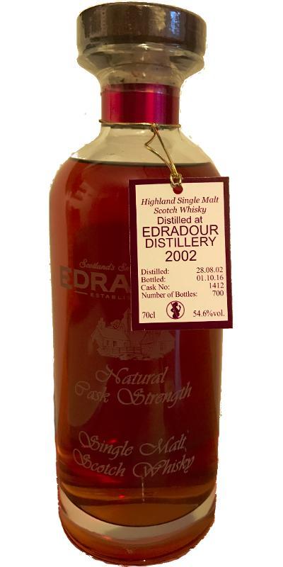 Edradour 2002