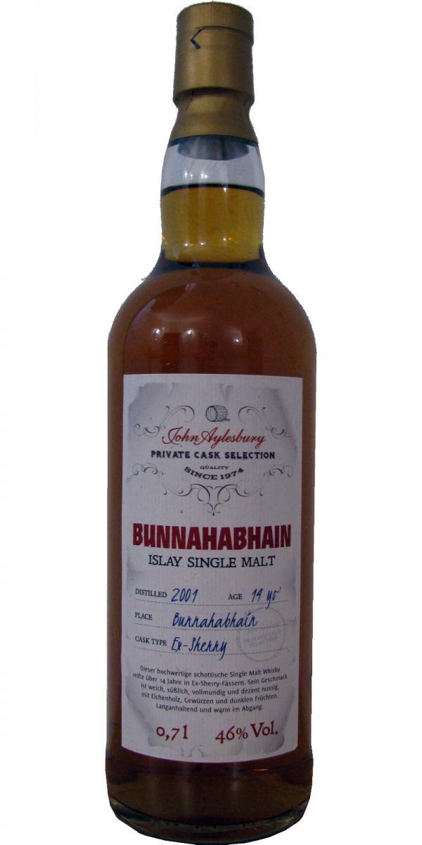 Bunnahabhain 2001 JAy