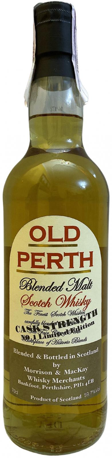 Old Perth Cask Strength MMcK