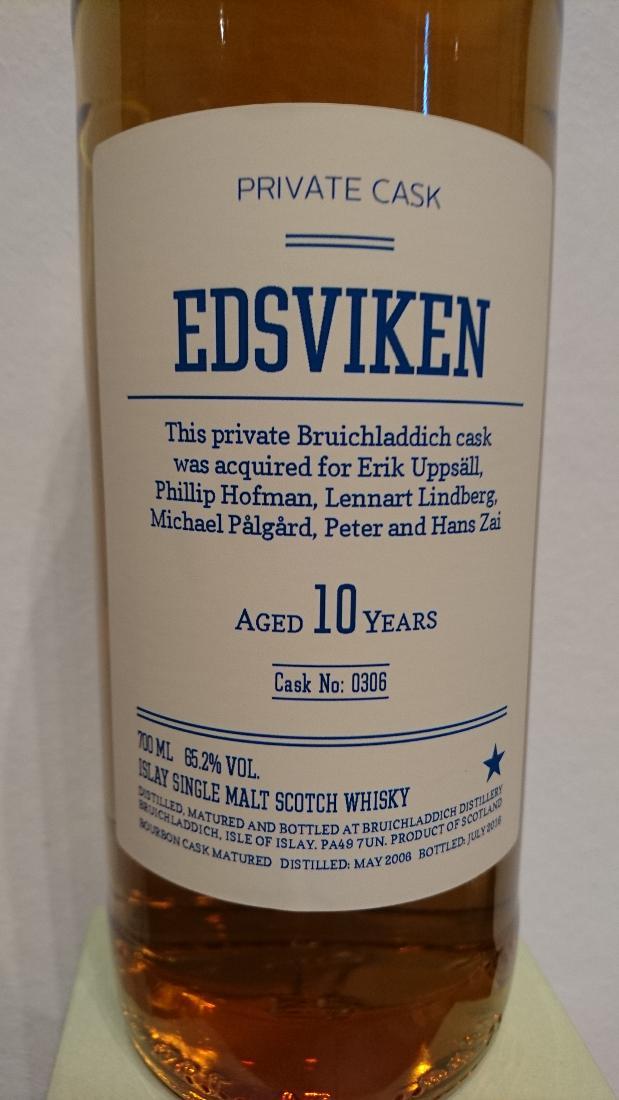 Bruichladdich 2006 - Edsviken