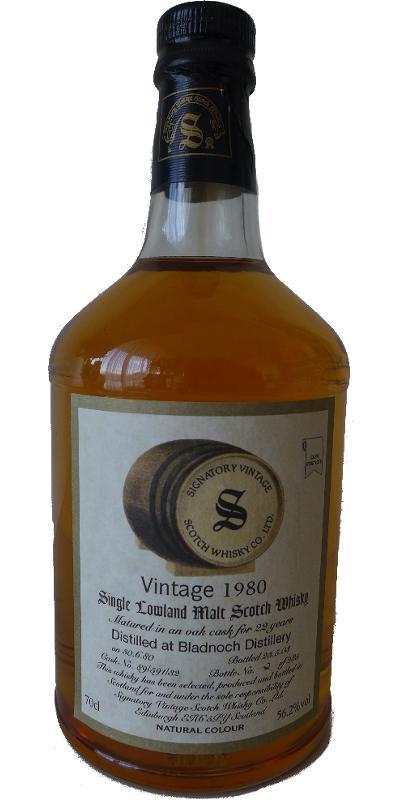 Bladnoch 1980 SV