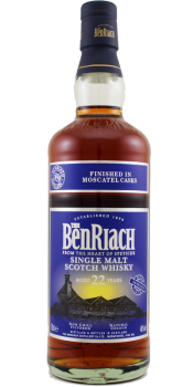 BenRiach 22-year-old Moscatel