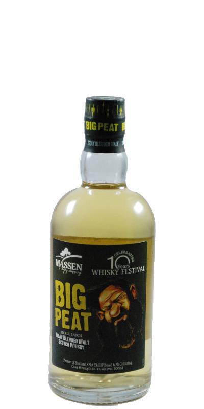 Big Peat 10 Years Whisky Festival Massen