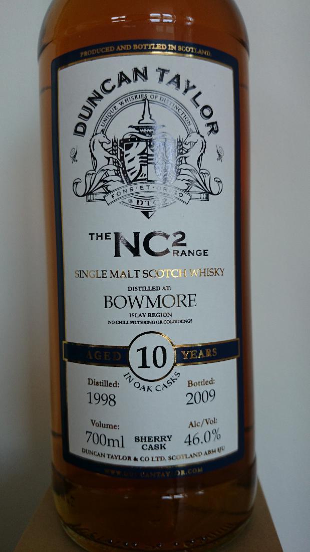 Bowmore 1998 DT