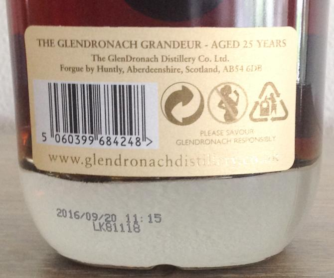 Glendronach 25-year-old