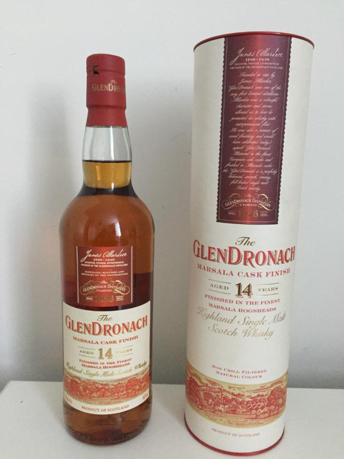 Glendronach 14-year-old Marsala Finish