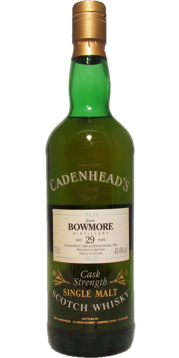 Bowmore 1964 CA