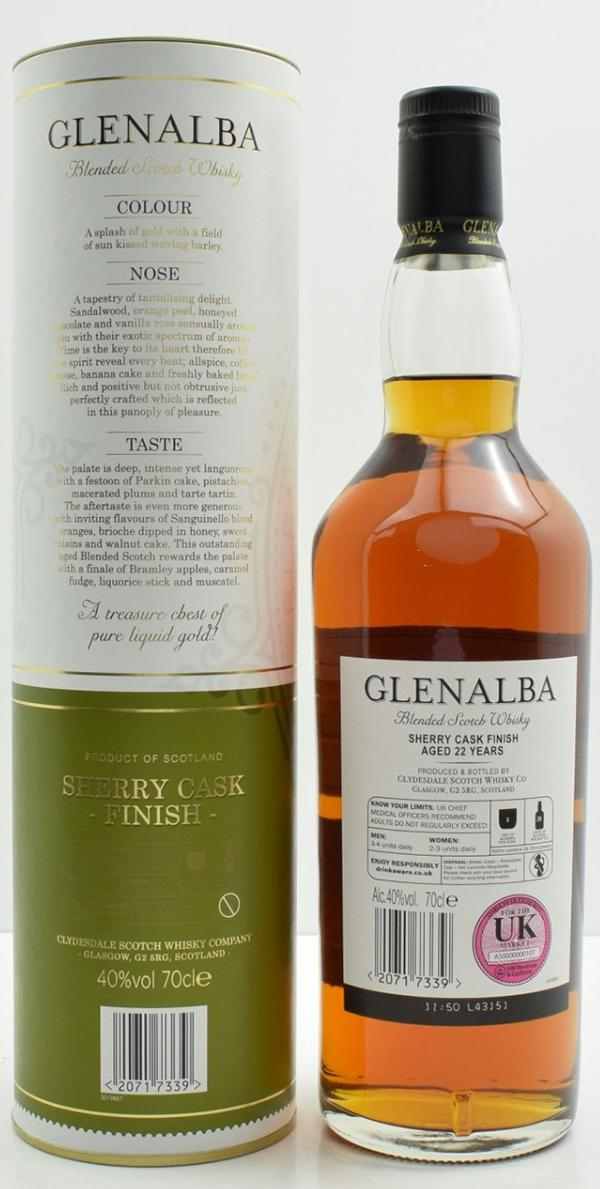 Glenalba 22-year-old Cd