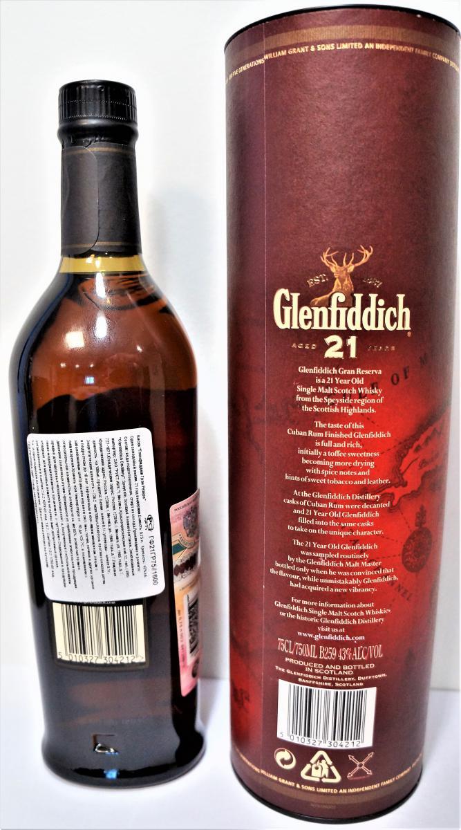 Glenfiddich 21-year-old