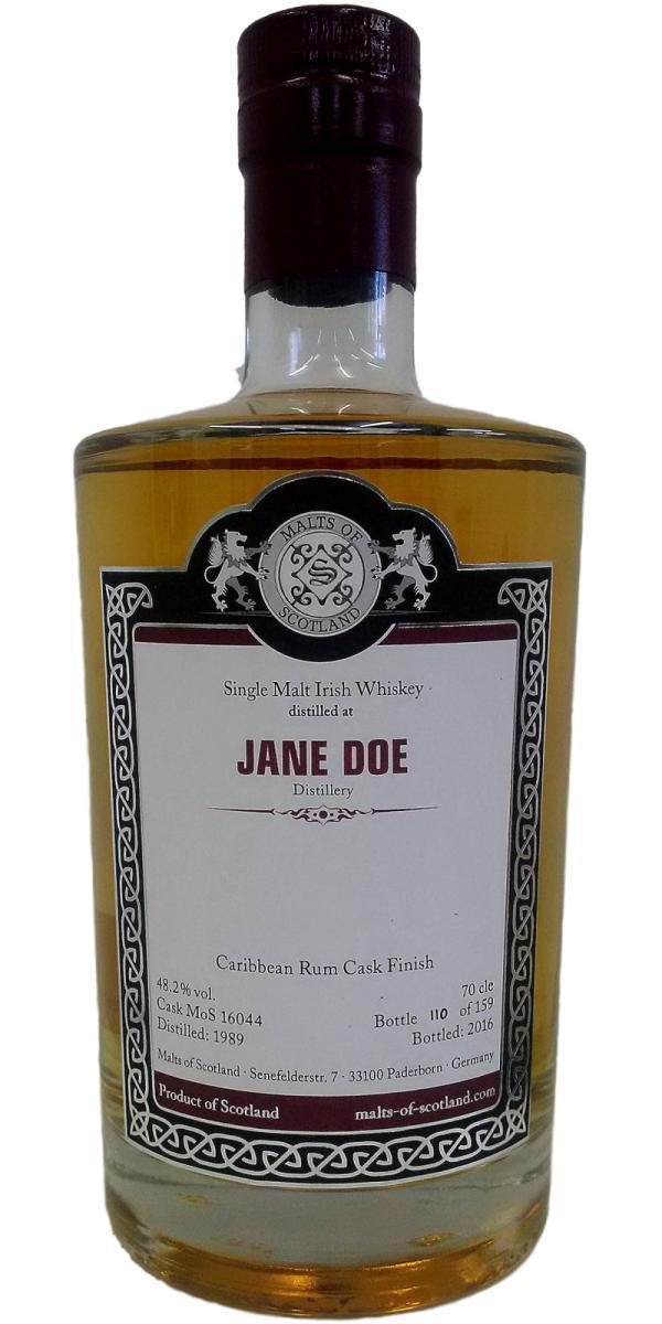 Jane Doe 1989 MoS