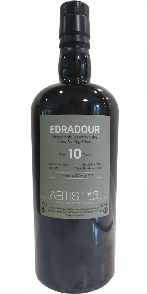 Edradour 2003 LMDW