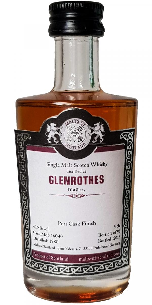 Glenrothes 1980 MoS