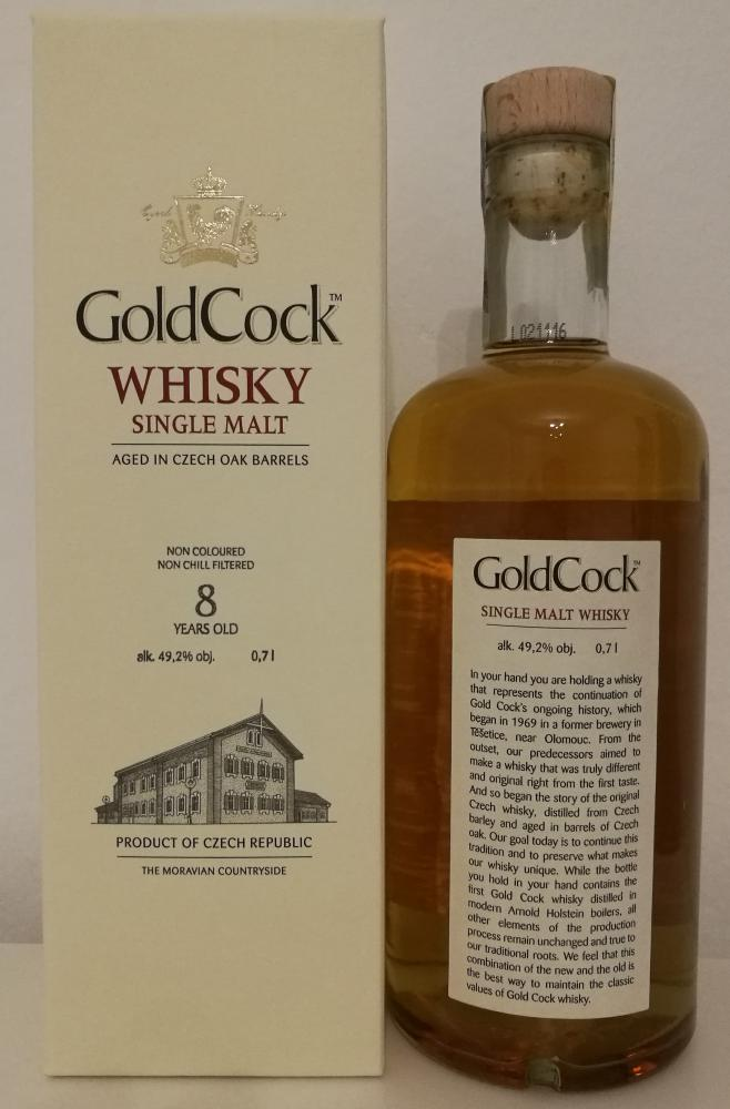 Gold Cock 08-year-old