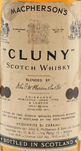 Cluny Scotch Whisky