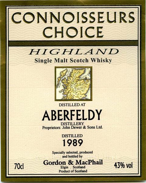Aberfeldy 1989 GM