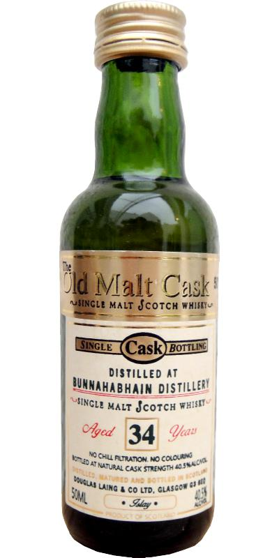 Bunnahabhain 34-year-old
