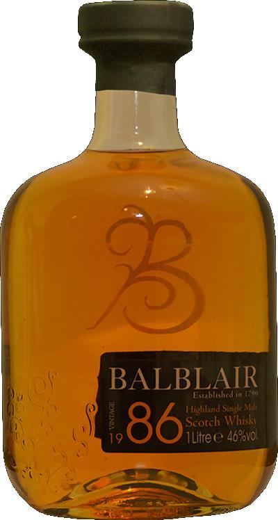 Balblair 1986