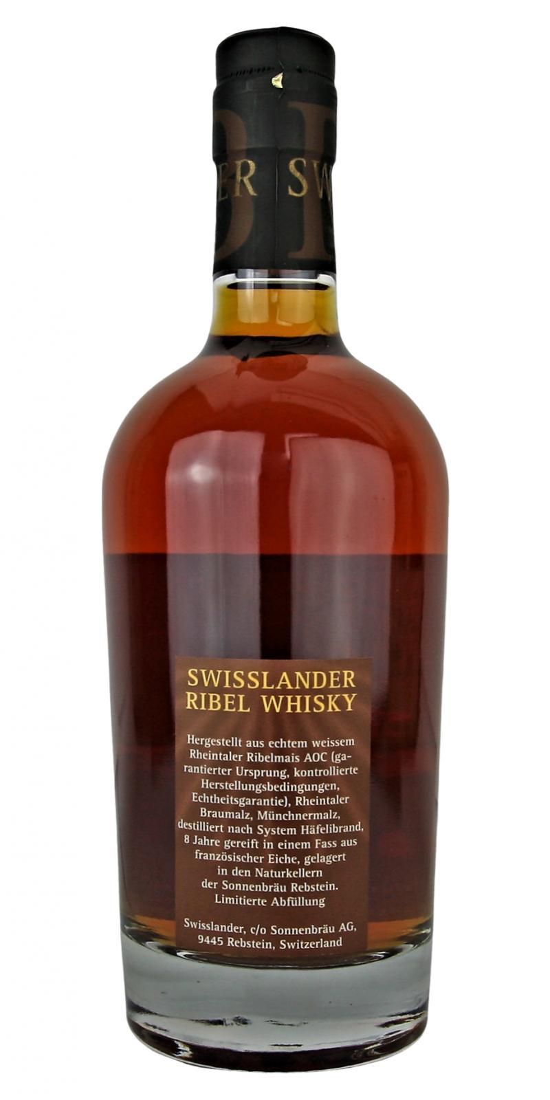 Sonnenbräu Ribel - Swisslander Whisky
