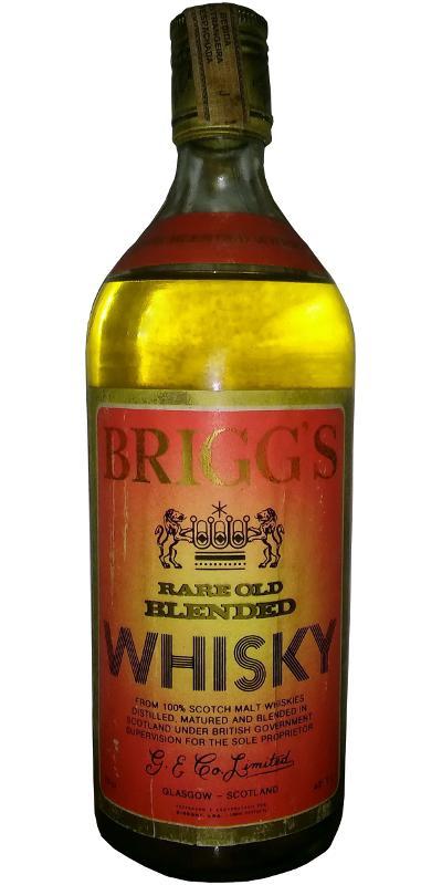 Brigg's Rare Old Blended Whisky