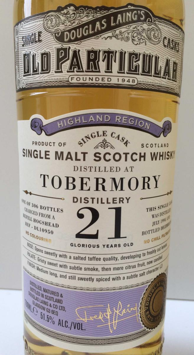 Tobermory 1994 DL