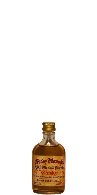 Sandy Macnab's Old Blended Scotch Whisky