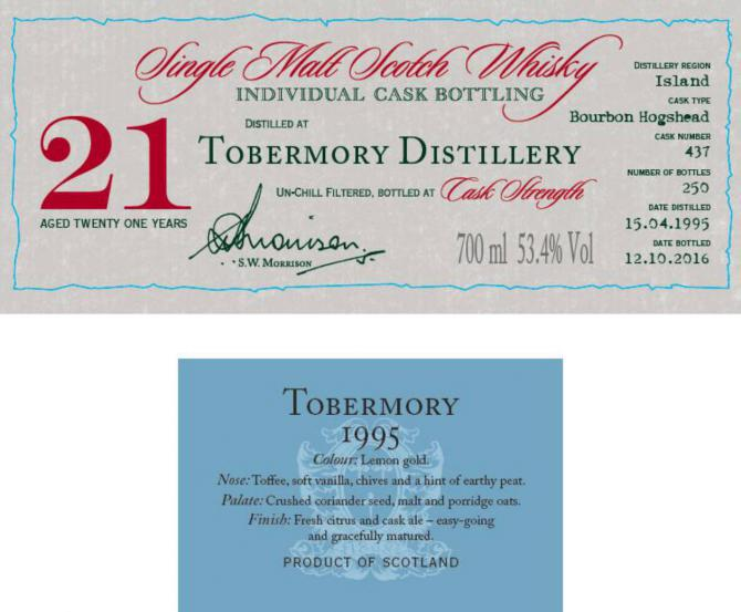 Tobermory 1995 DR
