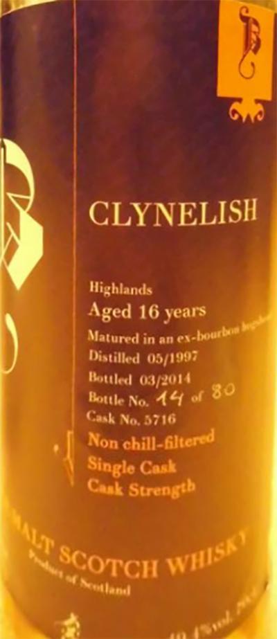 Clynelish 1997 Brd