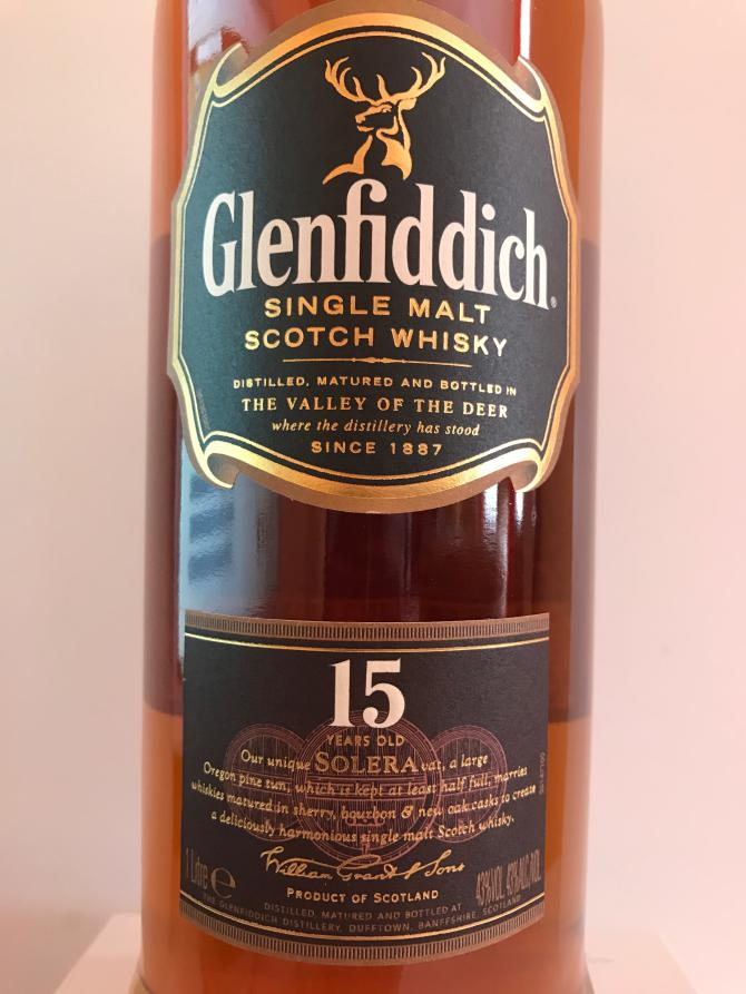 Glenfiddich 15-year-old