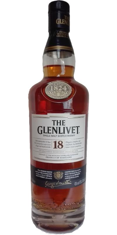 Glenlivet 18-year-old - Terres de Whisky Gift Set