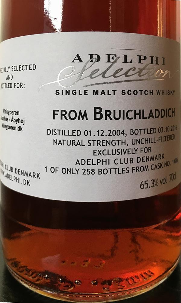 Bruichladdich 2004 AD
