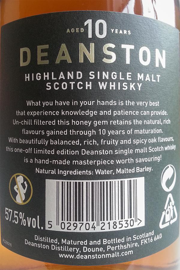 Deanston 10-year-old