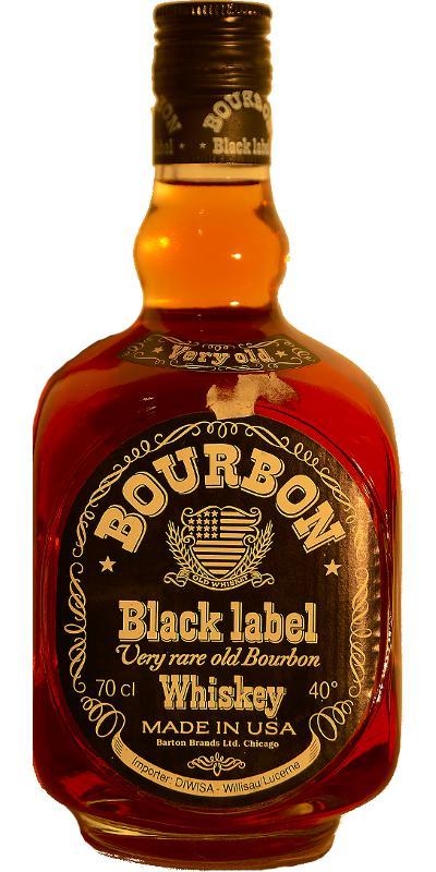 Barton Black Label Bourbon