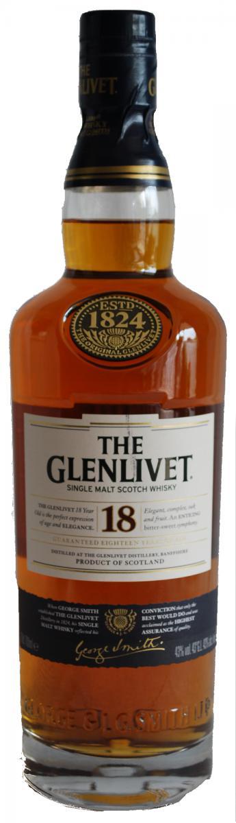 Glenlivet 18-year-old