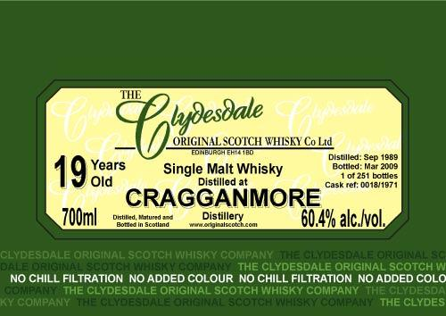 Cragganmore 1989 TCO