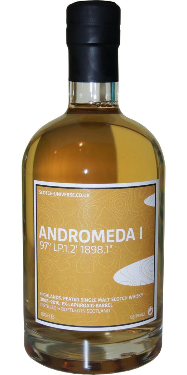 "Scotch Universe Andromeda I - 97° LP.1.2' 1898.1"""