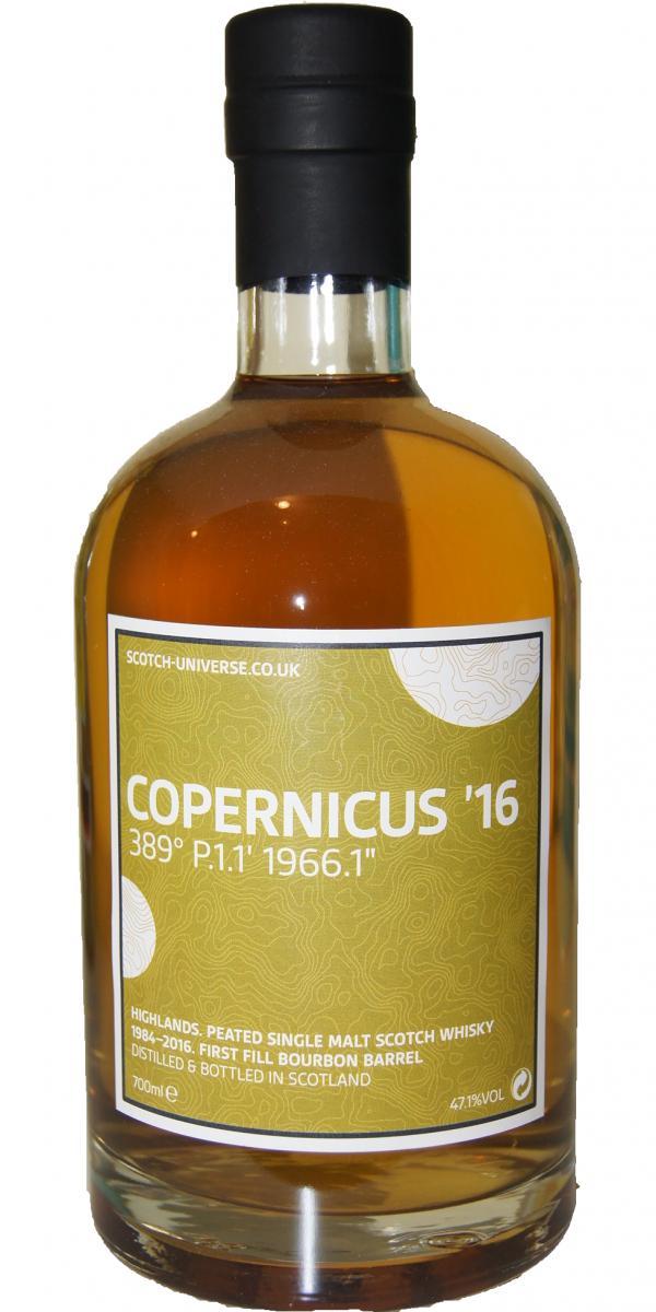 "Scotch Universe Copernicus '16 - 389° P.1.1' 1966.1"""