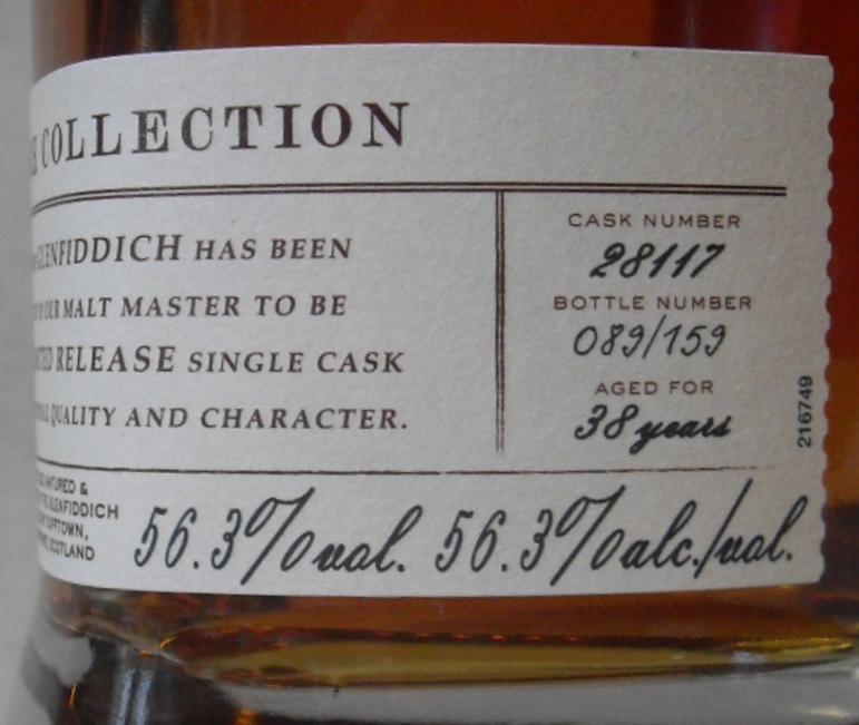 Glenfiddich 1978