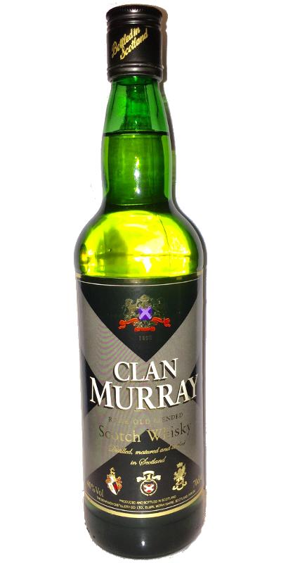 Clan Murray Rare Old Blended Scotch Whisky