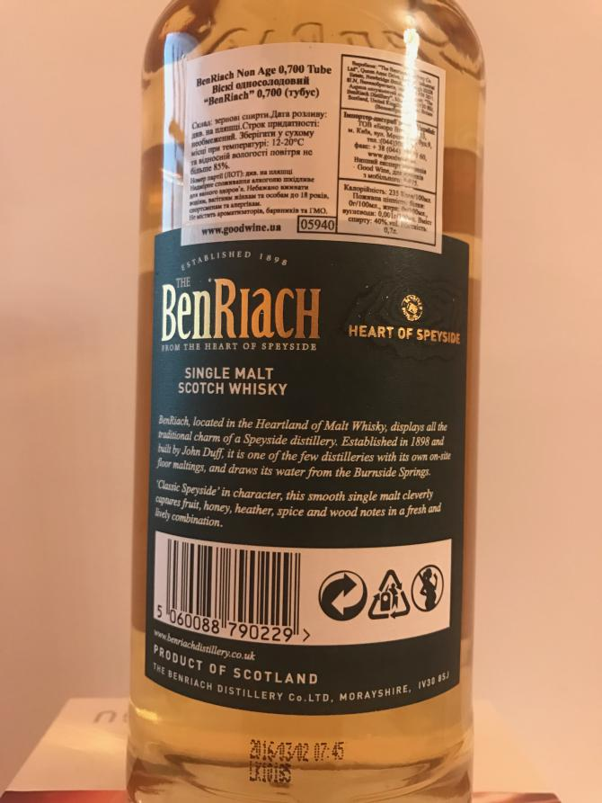 BenRiach Heart of Speyside