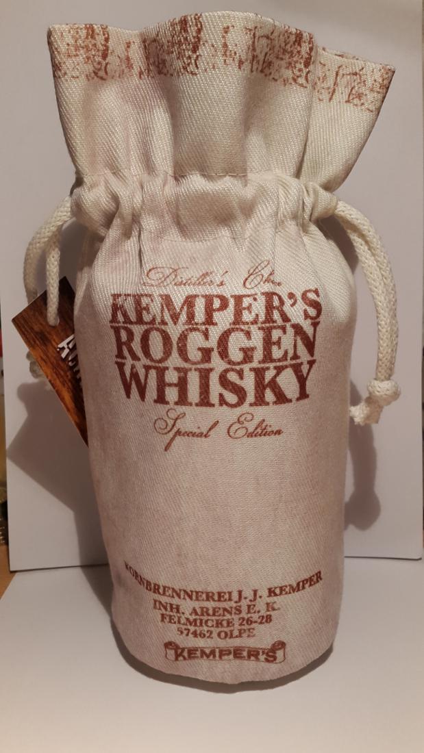 Kemper's Roggen Whisky Distiller's Choice
