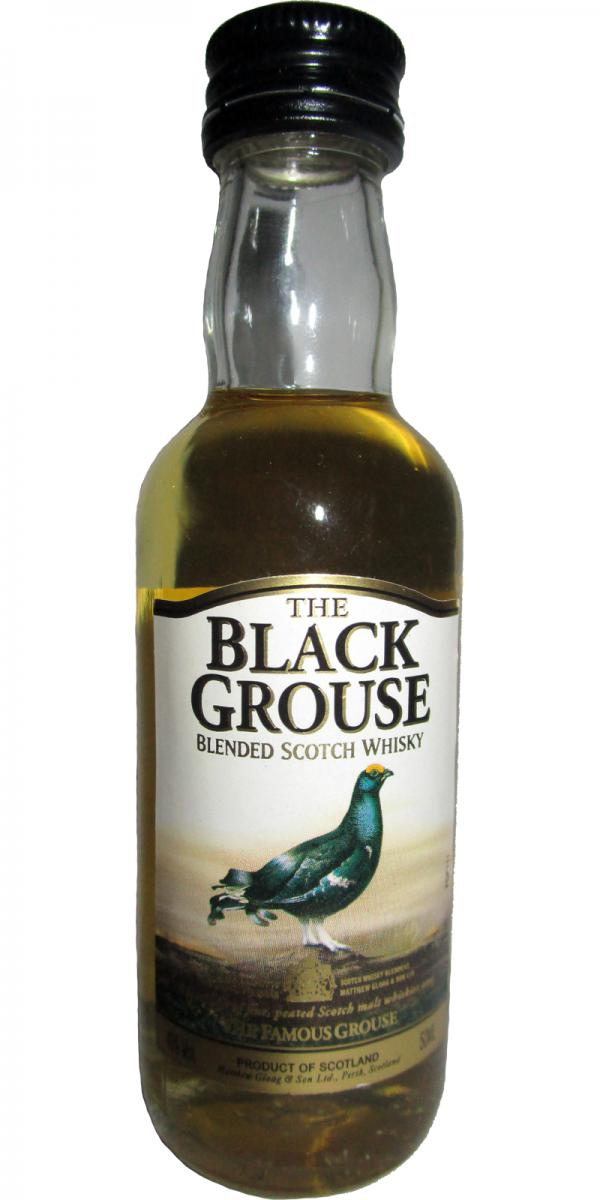 The Black Grouse Blended Scotch Whisky