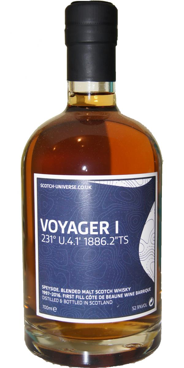 "Scotch Universe Voyager I - 231° U.4.1' 1886.2""TS"