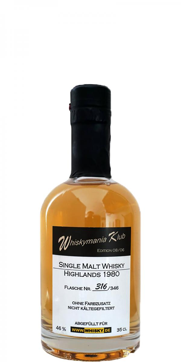 Whiskymania Klub 1980 - Highlands Wm.de