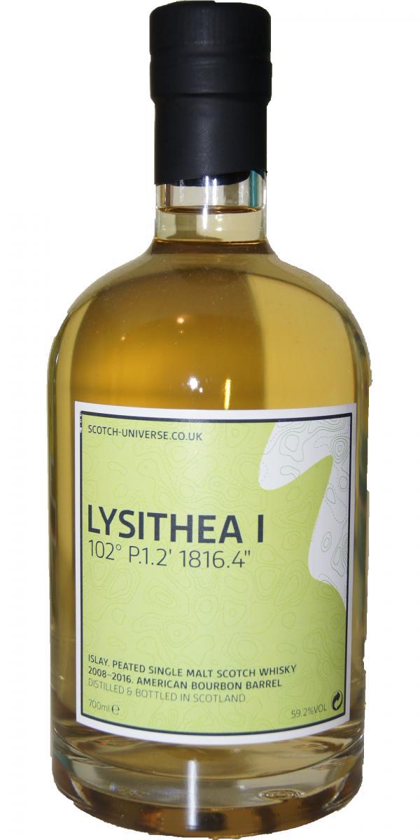 """Scotch Universe Lysithea I - 102° P.1.2' 1816.4"""""""