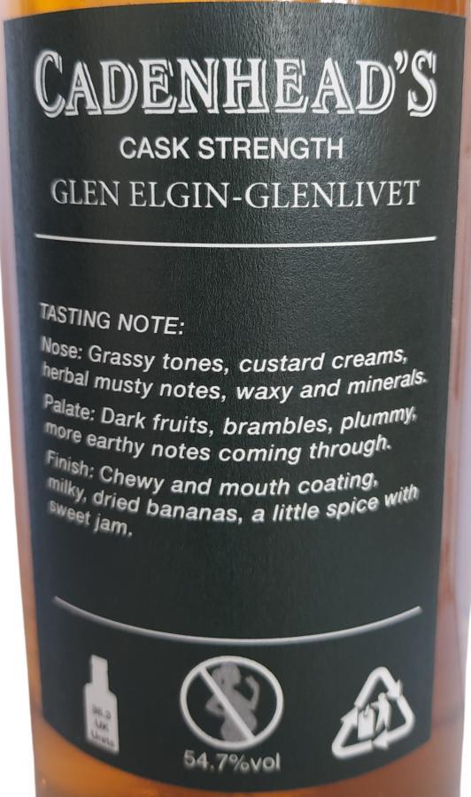 Glen Elgin 1995 CA