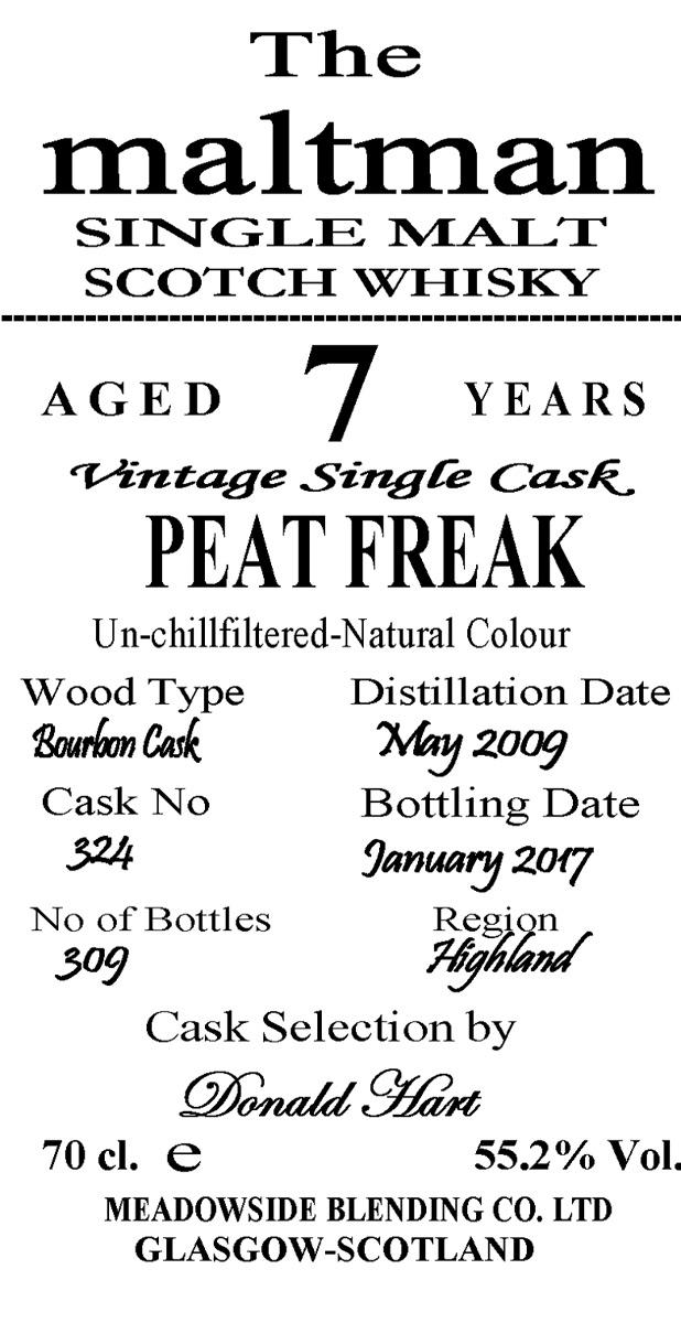 Peat Freak 2009 MBl