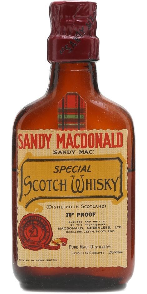 Sandy Macdonald Special - Scotch Whisky