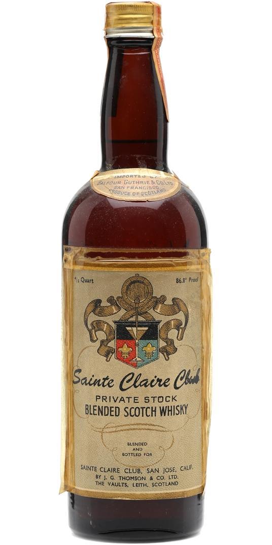 Sainte Claire Club Private Stock