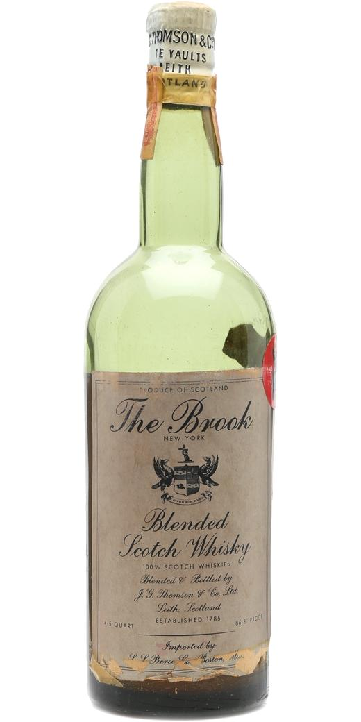 The Brook Blended Scotch Whisky