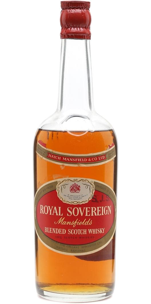 Royal Sovereign Blended Scotch Whisky